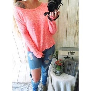 NWT American Eagle marled plush sweater 🍃